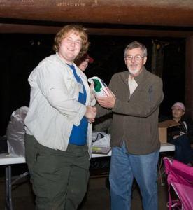 Bearpaw Wilderness Designs Canopy 1 tent won by Joseph Hogg